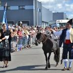 Asturcones de El Corru participan en el desfile de las Naciones Celtas en el Festival Interceltico de L´Orient.